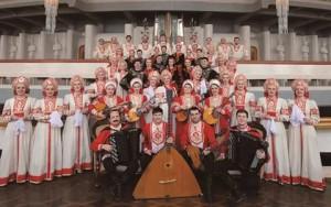 Государственный Волжский русский народный хор в Самаре отмечает свой 65-ый юбилей