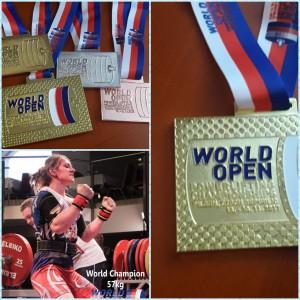 Спортсменка из Новокуйбышевска выиграла золото чемпионата мира по пауэрлифтингу в Чехии