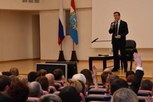 Дмитрий Азаров встретился с кадровым резервом области