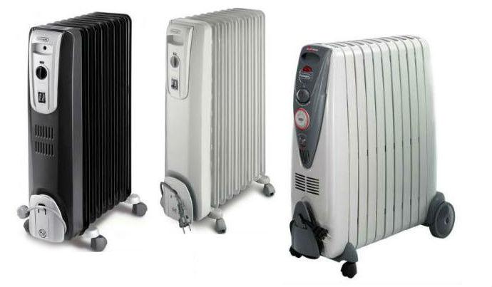 Масляные радиаторы от надёжных производителей