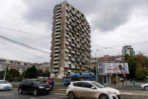 Дом-«напильник» в Самаре на Осипенко все-таки разрисуют