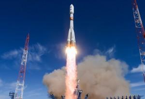 С космодрома «Плесецк» успешно проведен пуск ракеты-носителя «Союз-2.1б» с военным спутником