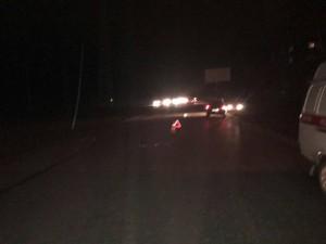 Сегодня вечером на Красноглинском шоссе «девятка» насмерть сбила переходившего дорогу мужчину