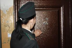 Cудебные приставы Самарской области проводят рейд «В Новый год - без долгов!»