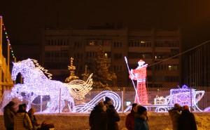 Грандиозное «Путешествие Деда Мороза с НТВ» по России продолжается в Самаре