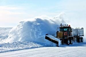 ЦУКС Самара: Внимание! Ограничение движения на 938 км автодороги М-5 из-за выпавшего снега