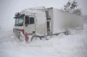 В Самарской области ввели ограничение для грузовиков из-за плохой погоды