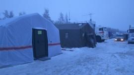 Информация о складывающейся обстановке на месте дорожного затора на федеральной трассе М-5 в Сызранском районе