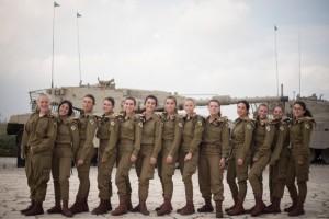 В израильской армии появились первые женщины-танкисты