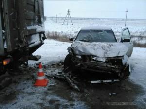 В Нефтегорском районе «десятка» столкнулась с с грузовиком «HINO»,  пострадал ребенок