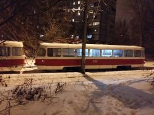 В Самаре  на улице Стара-Загора водитель трамвая сбил девушку, перебегавшую пути в неустановленном месте