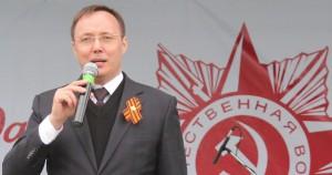 Председатель Думы Тольятти Дмитрий Микель поздравил горожан с Днем героев Отечества