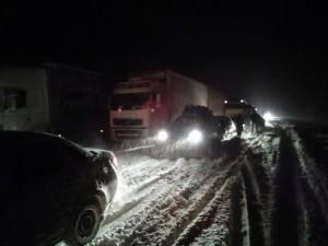 Подробности операции по вызволению автобуса с сызранскими детьми из снежного затора в ночь с 5 на 6 декабря