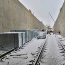 Завершено строительство путепровода для трамваев под улицей Дальняя завершено
