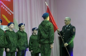 В Тольятти сотрудники транспортной полиции провели торжественное мероприятие, посвящённое Дню Героев Отечества