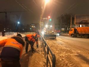 В Самаре создан оперативный штаб для принятия всех необходимых мер по борьбе с последствиями снегопада