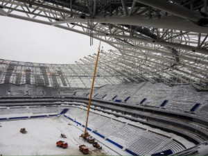 Строительство «Самара Арены» могут заморозить на три месяца?