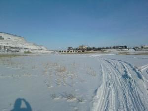 Открыта зимняя дорога из Самары в Рождествено через нацпарк Самарская Лука