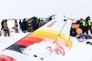 Число погибших при падении самолета в Нарьян-Маре возросло до четырех