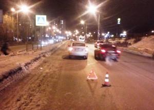 В Тольятти Лада Приора сбила женщину-пешехода