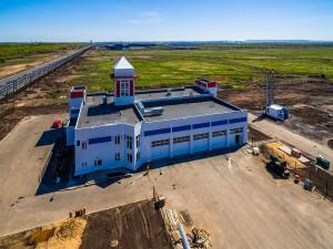 В ОЭЗ «Тольятти» завершилось строительство пожарного депо