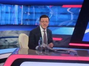 Сегодня Дмитрий Азаров примет участие в программе «Главная тема» на канале «Россия 24»