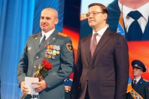Дмитрий Азаров поздравил личный состав ГУ МЧС РФ по Самарской области с Днем спасателя