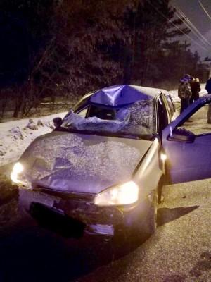 В Тольятти Лада Калина насмерть сбила пешехода