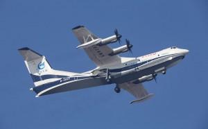 В Китае совершил первый полет крупнейший в мире самолет-амфибия