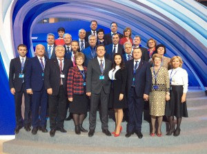 Самарская делегация приняла участие в XVII Съезде Партии «Единая Россия»