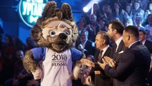 Официальный Талисман ЧМ-2018 волк Забивака  проведет новогоднюю ночь в Самаре