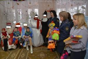 Женсовет Самарского юридического института устроил праздник детям в Доме матери и ребенка при ИК-15
