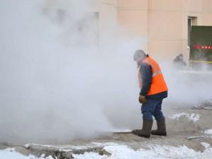 Специалистами «ПТС» выявлено повреждение тепломагистрали  на улице Стара-Загоре