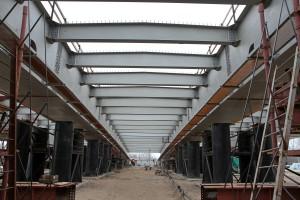 Пролетное строение Фрунзенского моста надвинуто на 224 метра в сторону Самары