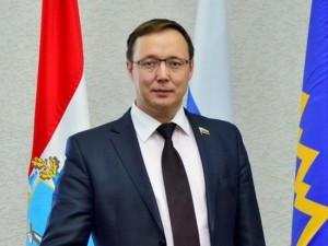 Председатель Думы Тольятти Дмитрий Микель поздравил работников МЧС с Днём спасателя