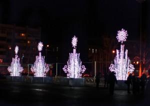 В новогоднюю ночь фейерверк в небе над Самарой прогремит в полночь