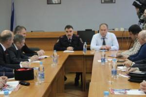 Тольяттинские полицейские встретились с представителями национальных диаспор