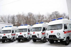 Региональные станции получили 25 новых автомобилей скорой медицинской помощи