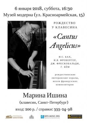В канун Рождества в Самаре зазвучит редкий клавесин