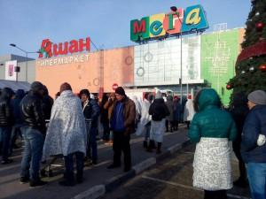 В Самаре из ТЦ «Мега» эвакуировали посетителей, из-за звонка о минировании