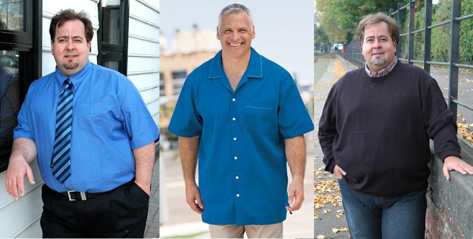Стильная одежда для больших мужчин